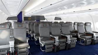 cabine premium economy de lufthansa sur l airbus a340