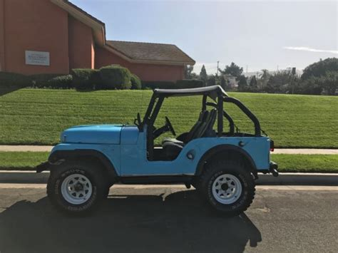 1967 Jeep Wrangler Cj5 4x4 V 6 Runs Great Jeep