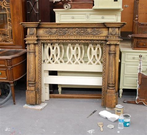 distressed fireplace mantels distressed mantel fabulously finished