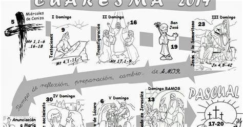 Calendario De Cuaresma Parroquia La Inmaculada Calendarios Cuaresma 2014 Y
