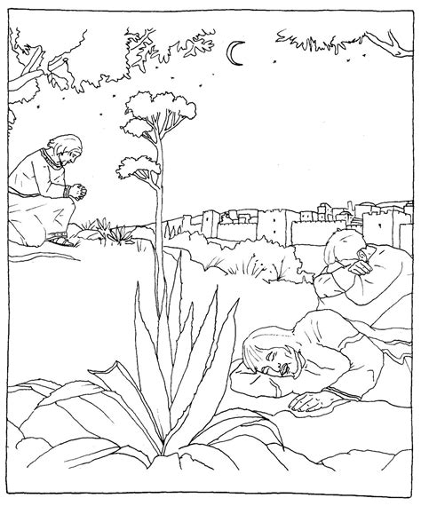 coloring page jesus in the desert jesus in the desert coloring pages