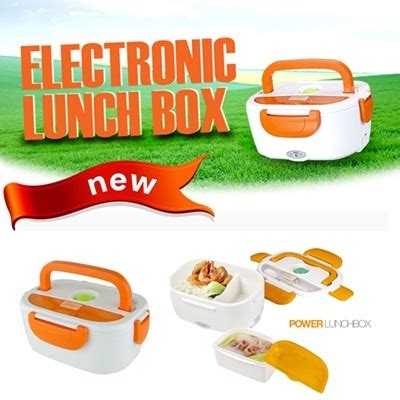 Kotak Rantang Makan Makanan Selalu Hangat Lunch Elektric Box power lunch box kotak makan elektrik 278 barang unik china barang unik murah grosir