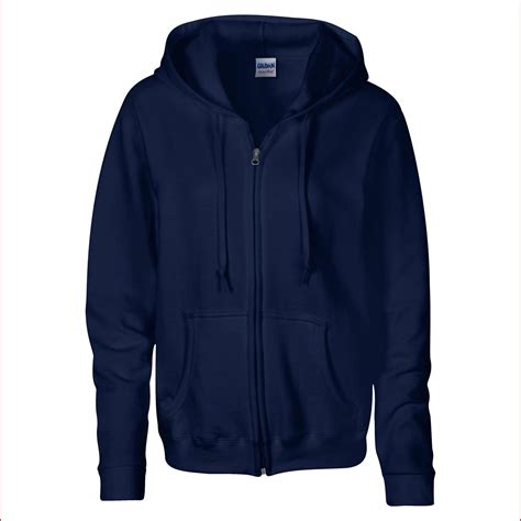 Jaket Cewe Zipper Hoodie Navy Original 2 gildan womens heavy zip up hoodie sweatshirt in 6 colours s navy