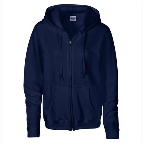 Jacket Hoodie Zipper Navy gildan womens heavy zip up hoodie sweatshirt in 6 colours s navy