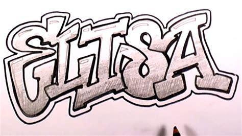draw graffiti letters  elisa  names promotion