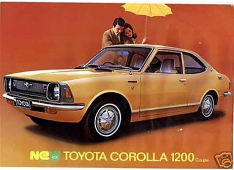 1972 Toyota Corolla Coupe 1972 Toyota Corolla Coupe Sl Picture Gallery Motorbase