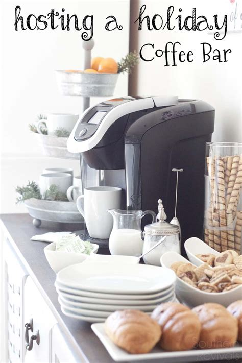 how to host a holiday coffee bar and save money doing it
