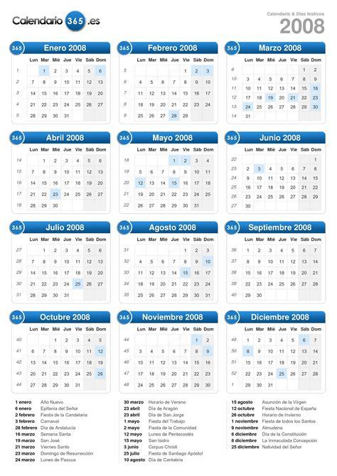Calendario Julio 2008 Calendario 2008