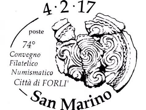 ufficio filatelico san marino san marino ufn a forl 236 per il 74esimo convegno filatelico