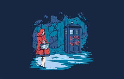 I Tardis Doctoriphone Semua Hp обои девочка арт фон деревья tardis доктор кто тардис красная шапочка