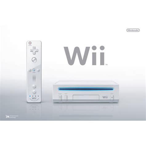 nintendo wii console system walmart