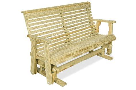 rocking garden bench rollbackgliderbench outdoor rocking bench treenovation