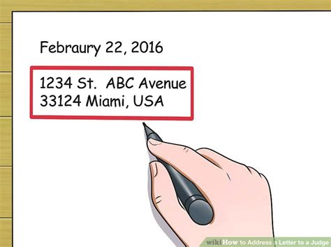 address a letter 3 ways to address a letter to a judge wikihow