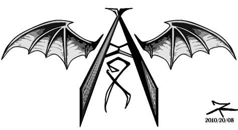 Avenged Sevenfold Logo 04 a7x part 1 n map numa