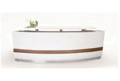 Reception Desks Canada Qt 807 Modern White Reception Station Canada Gwfurniture