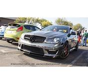 Mercedes Benz C63 AMG / Vorsteiner Coupe Wrapped In Avery
