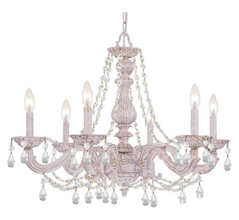 Crystorama Sutton 6 Light Antique White Chandelier Free Shipping Today Overstock Crystorama Six Light Antique White Up Chandelier Antique White 5026 Aw Cl Saq From Sutton Collection