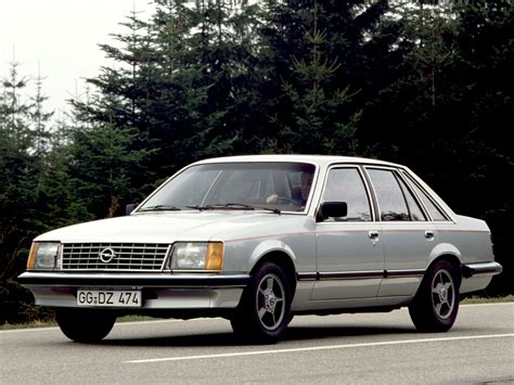 opel senator 1978 opel senator 2 0e related infomation specifications