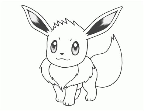 Pages Eevee eevee coloring page coloring home