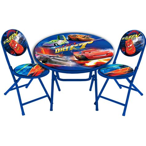 cars table and chairs disney cars table and chair set table walmart