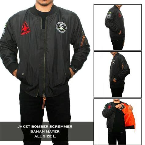 Jaket Bomber Jokowi Jaket Pilot jual beli jaket bomber screamer jaket bomber premium