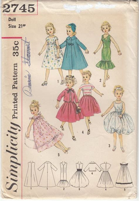 pattern etsy domain 17 best images about dolls clothing on pinterest doll