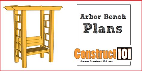 news and article garden arbor woodworking plans garden arbor bench plans construct101