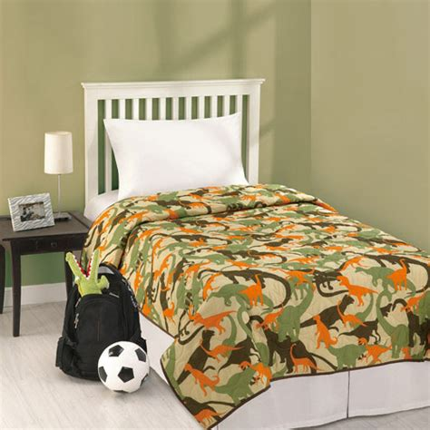 dino bedding t rex dinosaur camouflage twin single bedding quilt cover