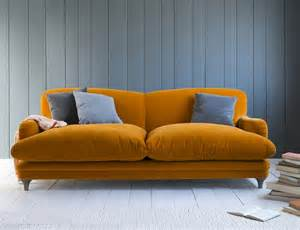 they are statement pieces but sofas must also offer