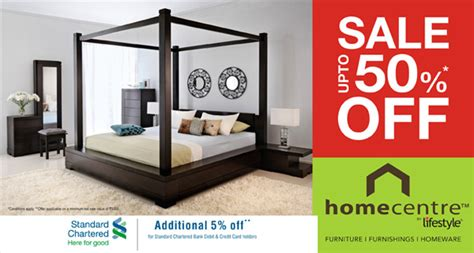 home centre presents upto sale 50 on all furniture at