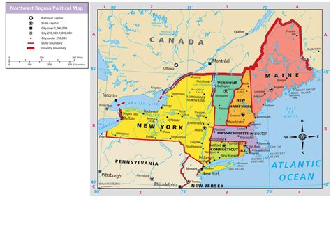 map usa northeast region usa northeast region map quotes