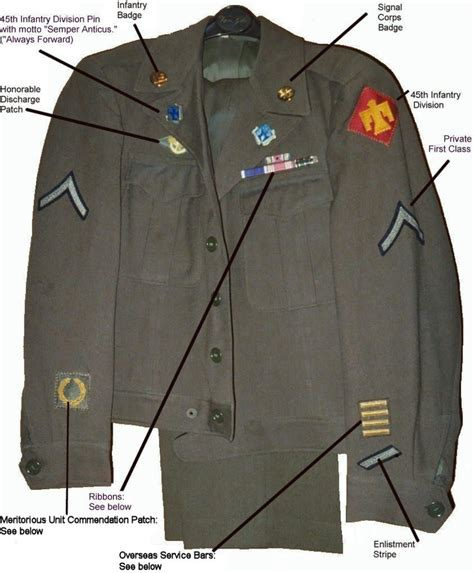uniforms regulations on pinterest armies navy uniforms and u s army uniform priviate 1st class late 50s early 60s