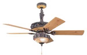 Rustic Ceiling Fans Creating The House Mood 20 Best Rustic Ceiling Fans Warisan Lighting