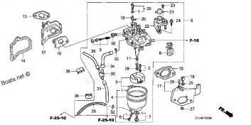 Honda Eu3000is Parts All Years Eu3000is A Honda Generator Carburetor Diagram