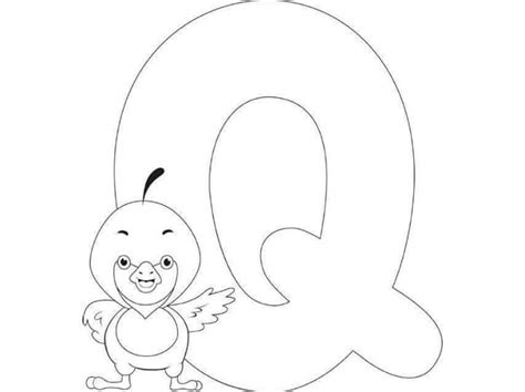 Printable Letter Q Coloring Pages by Free Printable Letter Q Coloring Pages For 171 Funnycrafts