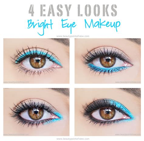 Eye Liner Eternally By Gie Oshop 4 einfache eye make up looks mit hellen farben 1abeautyshop