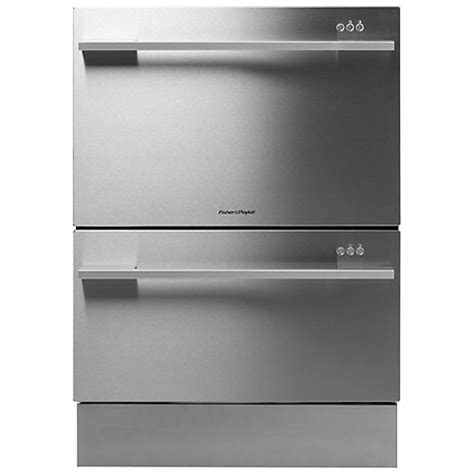 stainless steel drawer slides nz buy fisher paykel dd60ddfhx7 built in double dishdrawer