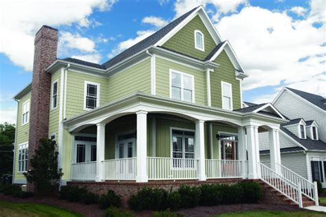 Fiber Cement Siding Panels Create A Historic Look With James Hardie Siding Home