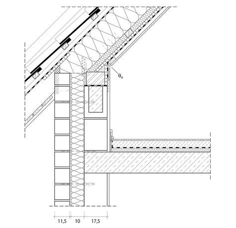 Gesims Detail by 4 5 1 2 Anschlusspunkt Dach Architektenordner