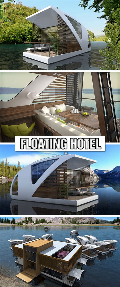 floating hotel with catamaran apartments by salt water floating hotel with catamaran apartments by salt water