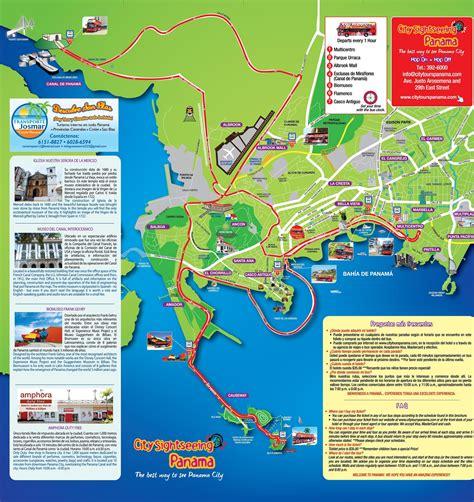 panama city panama map popular 155 list panama city map