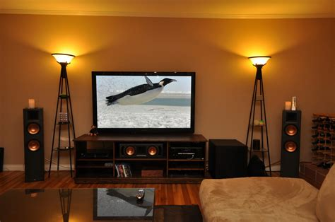 home theater living room image mag