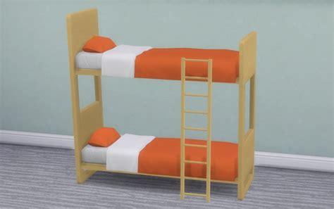 sims 4 bunk beds ul dorm contrast bunk bed frames at veranka 187 sims 4 updates
