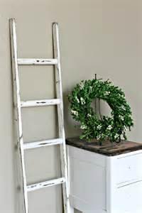 decorative ladder for blankets ladder vintage rustic blanket ladder distressed pot rack