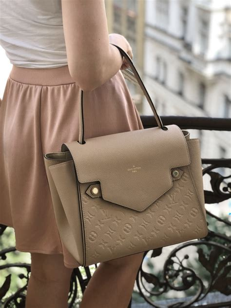 louis vuitton trocadero empreinte leather dune luxury bags