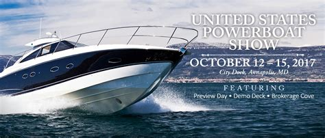 2017 annapolis boat show united states powerboat show annapolis boat shows