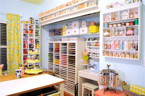 hometalk craft space decor and storage ideas