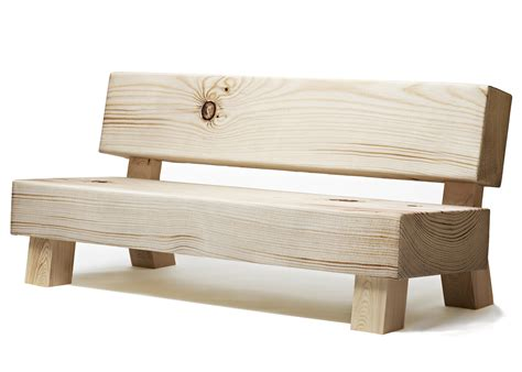 soft wood chair bench sofa by front moberg fung