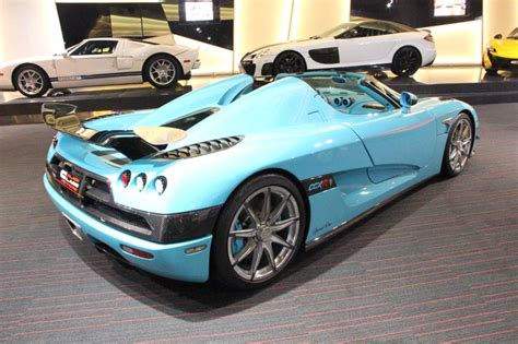 light blue koenigsegg 2010 koenigsegg ccxr in light blue color rear photo