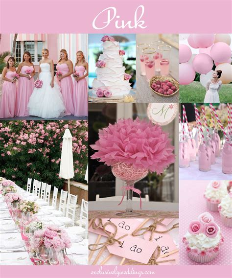 Wedding Pink by The 10 All Time Most Popular Wedding Colors Exclusively